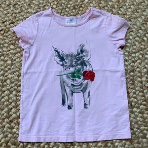 Hanna Andersson tee size 140